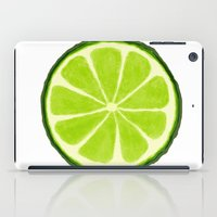 lime iPad Cases featuring Lime by Linde Townsend