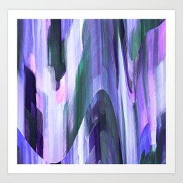 Midnight Purple Art Print