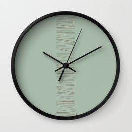 Monolithe Color 5 Wall Clock