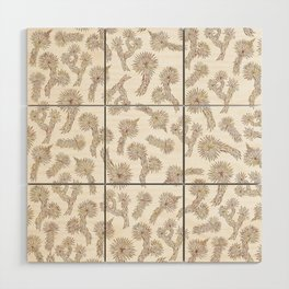 Joshua Tree Bricks by CREYES Wood Wall Art