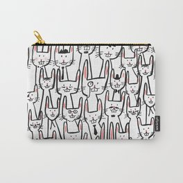 Bunny family Carry-All Pouch