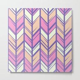 Pastel Arrows Metal Print