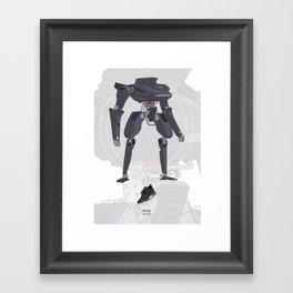 R1 OG Framed Art Print