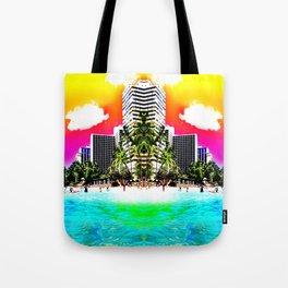 Waikiki Beach Reflection part III Tote Bag