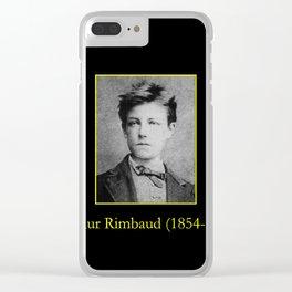 Etienne Carjat - Portrait of Rimbaud Clear iPhone Case