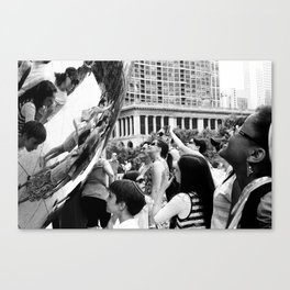 Chicago Street Scenes 3: Cloud Gate Canvas Print