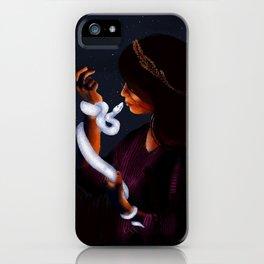 September Full Moon: Harvest Moon iPhone Case