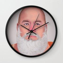 Mugshot Santa Claus Wall Clock