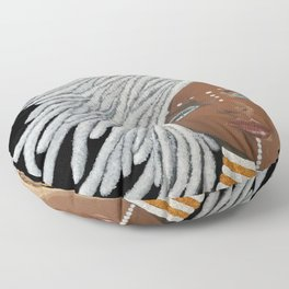 African Goddess Floor Pillow