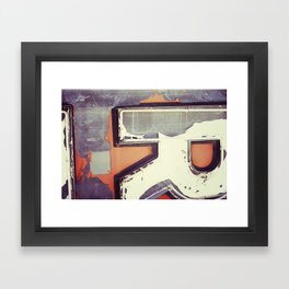 Redo Framed Art Print