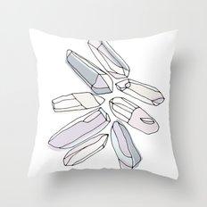 CHRYSTALS! Throw Pillow