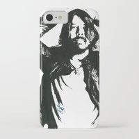 dave grohl iPhone & iPod Cases featuring Dave Grohl (1) by Carolyn Campbell