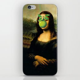 GIOCONDA MAGRITTE iPhone Skin