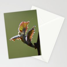 Dew in Spring - A Nature Art Print Stationery Cards