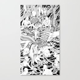 At War With Nature Canvas Print
