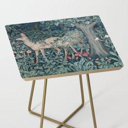 William Morris Forest Deer Side Table