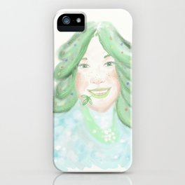 Christmas tree spirit iPhone Case