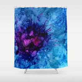 Amethyst Freeze Shower Curtain