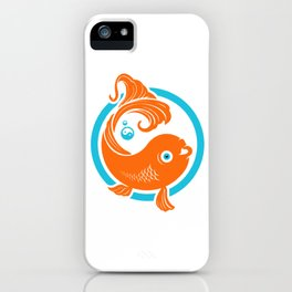 Good Luck  Koi Goldfish iPhone Case