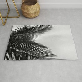 Coconut palm fronds Rug