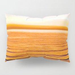 Sun kissed skin on the beach Pillow Sham
