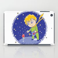 the little prince iPad Cases featuring Little Prince by Bruna Sousa