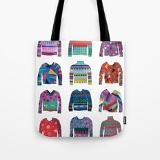 Sweater Poster Tote Bag