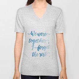We Were Together. Unisex V-Neck