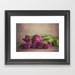 Pretty Purple Framed Art Print