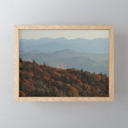 The Blue Ridge Mountains NC, Fine Art Photography Framed Mini Art Print