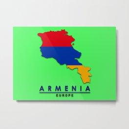 Armenia - Europe Metal Print