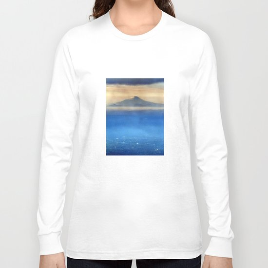 Fuji-san (富士山) original version Long Sleeve T-shirt