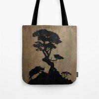 safari Tote Bags featuring Safari by Last Call