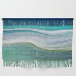 OCEAN ABSTRACT Wall Hanging