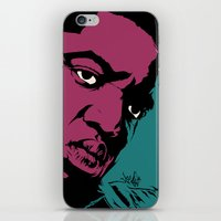 notorious iPhone & iPod Skins featuring Notorious by Vee Ladwa