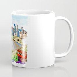 Pittsburgh Aerial View Coffee Mug