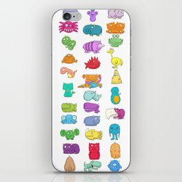 Furrry Monsters iPhone Skin