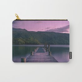 Sunset over Lake Tarawera, New Zealand Carry-All Pouch