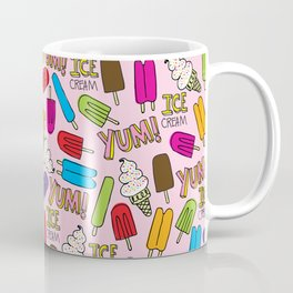 Ice Cream Doodles Coffee Mug