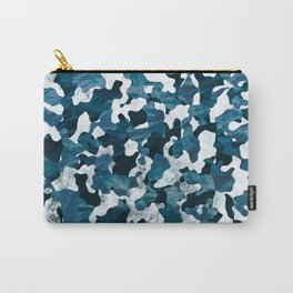 Surfing Camouflage #3 Carry-All Pouch
