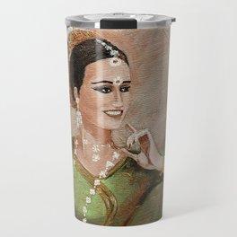 Buddhism dancer Travel Mug