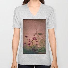 Floral Joy Unisex V-Neck