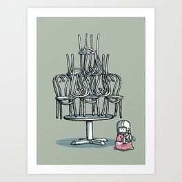 Poltergeist Art Print