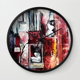 Fully Self-Contained Wall Clock