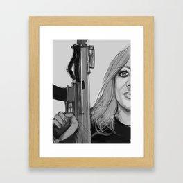 Badass bitches.  Framed Art Print