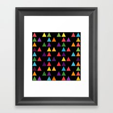 Lovely geometric Pattern XIII Framed Art Print