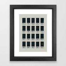 The New Black Framed Art Print