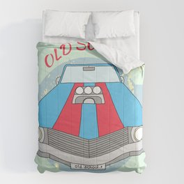 retro car Comforters