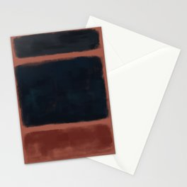 Rothko Inspired #27 Stationery Cards