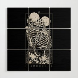The Lovers Wood Wall Art